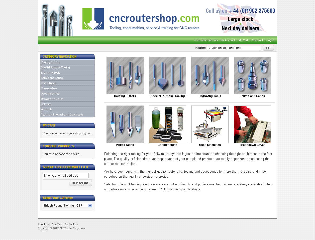 cleartarn website - CNC Router Shop