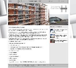 cleartarn website - UK System Scaffold